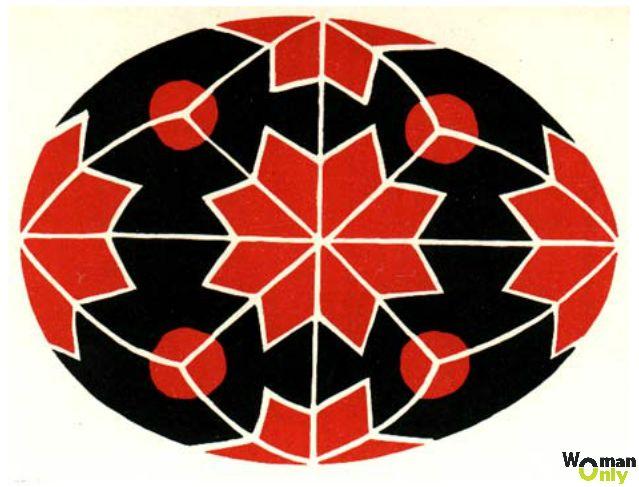 Роспись пасхальных яиц - традиционные орнаменты