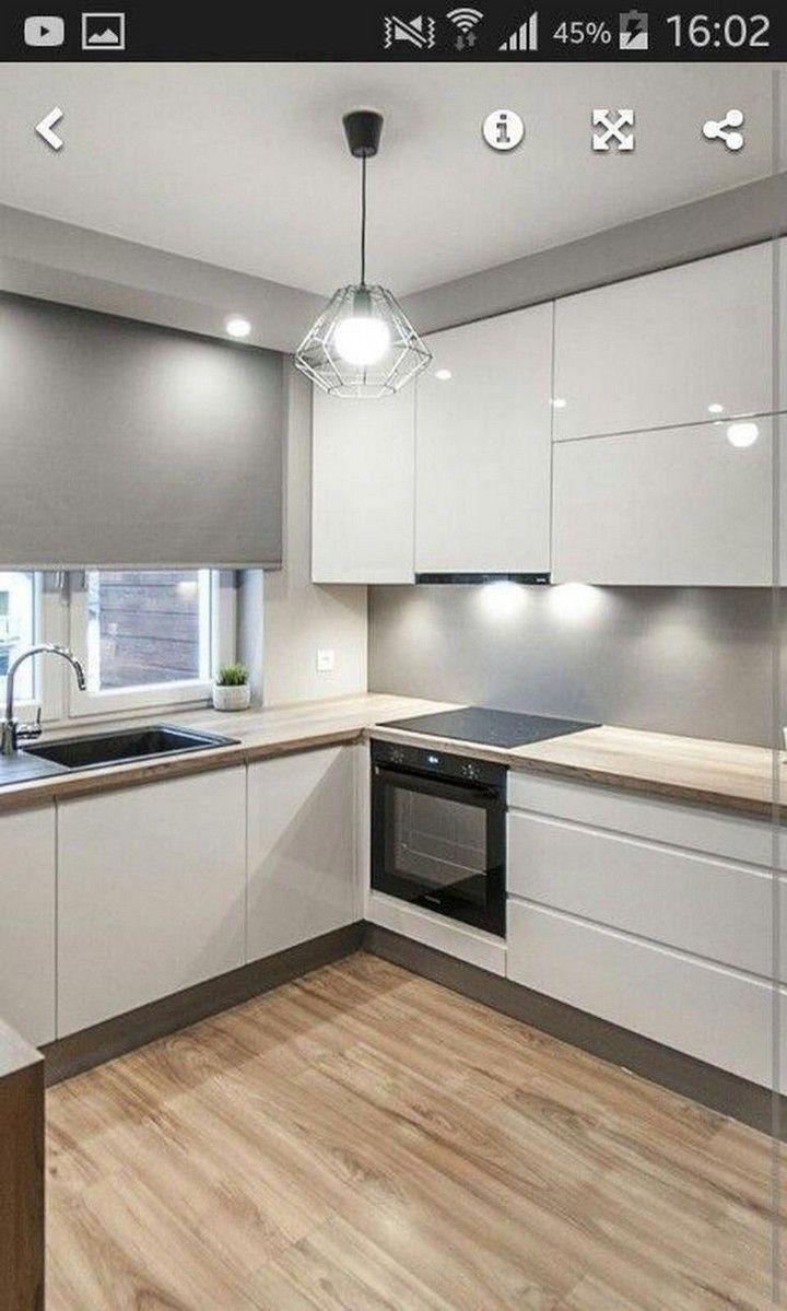 30 Best Kitchen Countertops Design Ideas In 2020 Small Modern Kitchens Modern Kitchen Design Kitchen Design Small