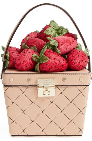 5c3df59896e2f1 Strawberry Purse by Kate Spade ~ Mary Wald's Place   Strawberries in ...