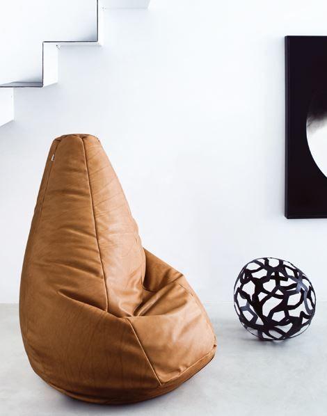 SACCO Upholstered Bean Bag By Zanotta