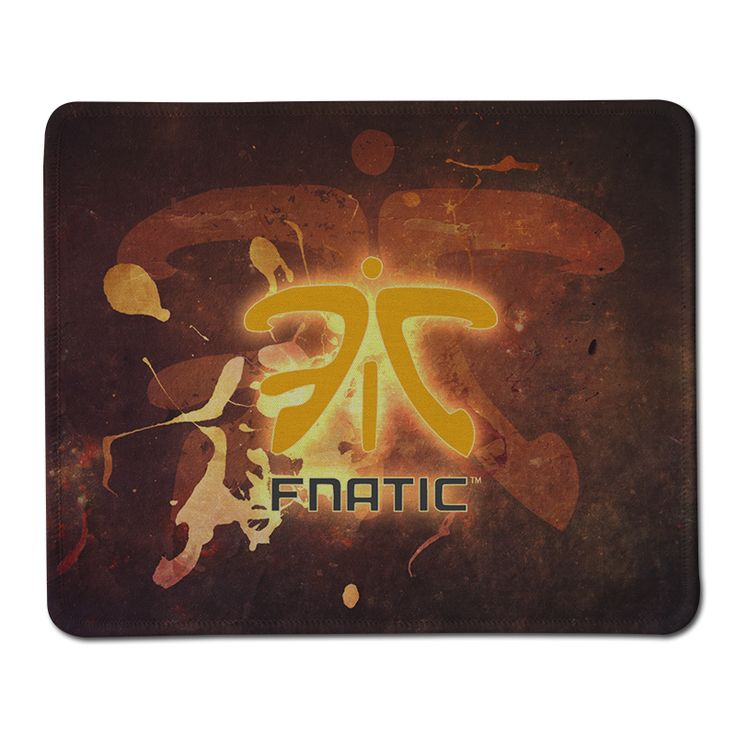 New Arrival Custom Fnatic Logo Mat Soft Anti-Slip Rubber Notebook Computer Mouse Pad for Gaming Mousepad