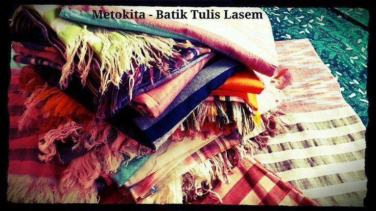 #tenun #sekaf #scarf jepara. Visit www.facebook.com/metokita for more...