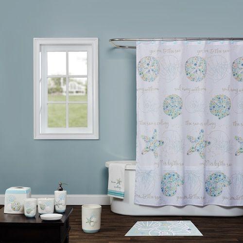 Saturday Knight Ltd Seaside Shower Curtain Collection Shower