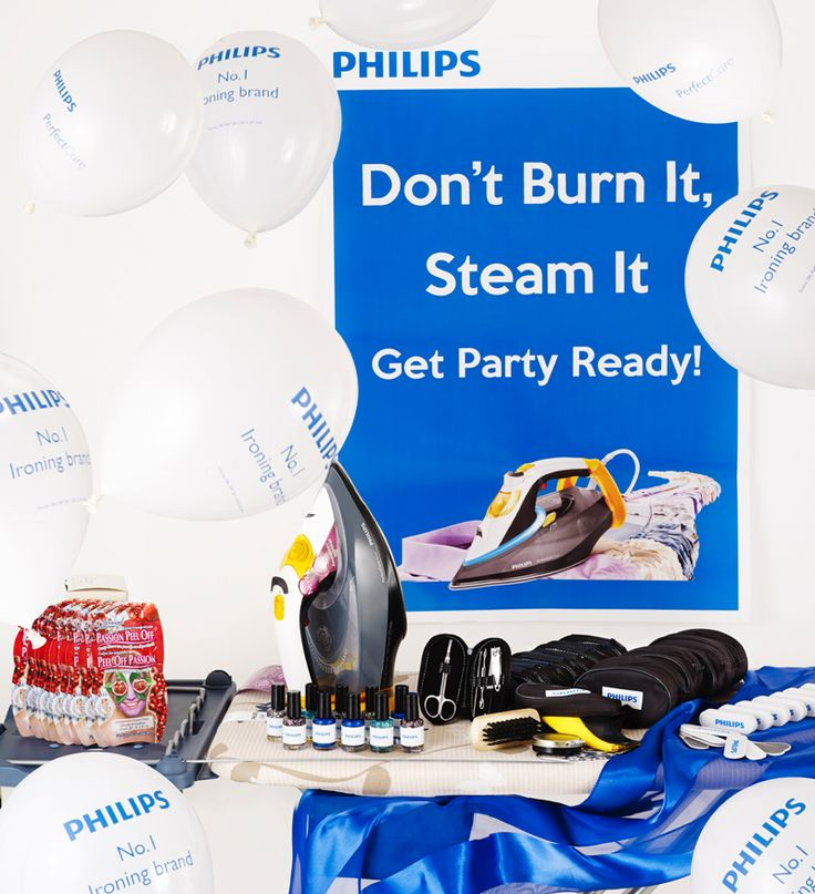 The #PhilipsPerfectCare party pack!