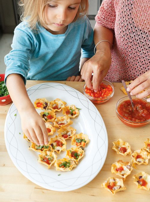 Bouch�es de nachos toutes garnies Recettes | Ricardo