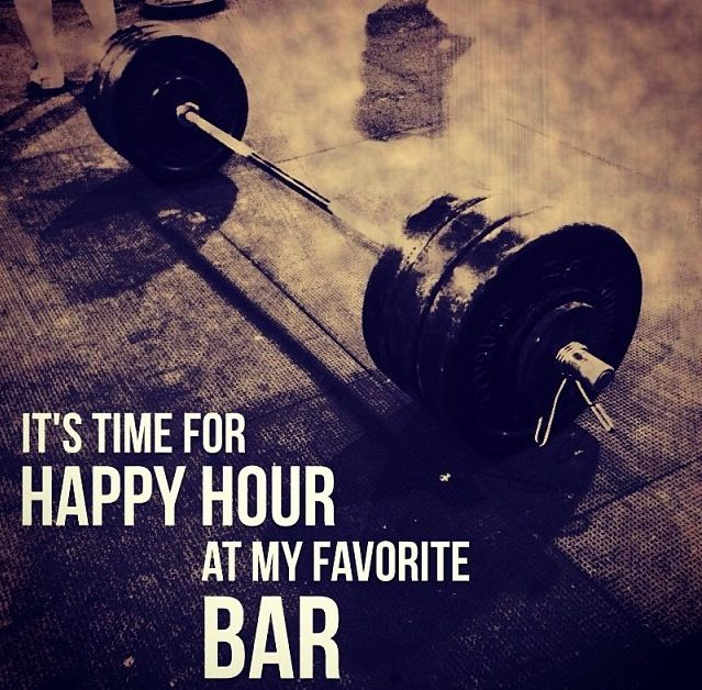 fitness is such a lifestyle- this is our favourite kind of bar! ;)