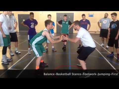 Basketball Footwork - Agility Stance and Balance with coach Paul Nicholson - YouTube