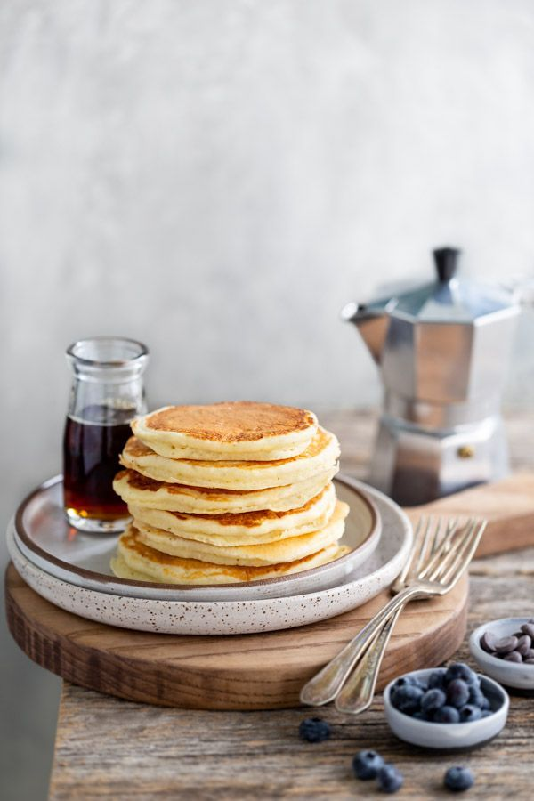 Family Favorite Buttermilk Pancakes Light And Fluffy These Classic Buttermilk Pancakes Are Perfect With Maple Syrup Add B Buttermilk Pancakes Food Recipes