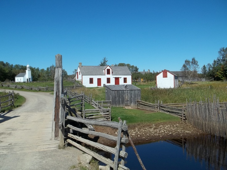 Historical Acadian Village NB