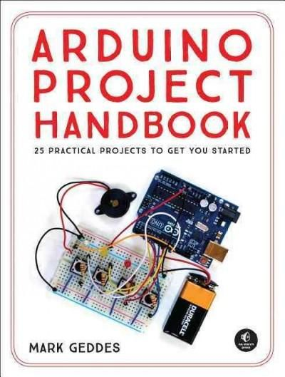 The Arduino Project Handbook is a beginner friendly collection of 45 fun and interactive projects to build with the low cost Arduino microcontroller. Each project includes concise instructions with fu