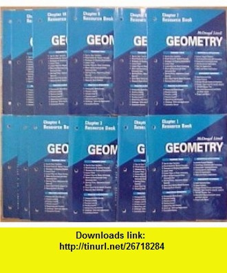 Package of 12 McDougal Littell Geometry Chapter Resource  (Chapters 1-12) (McDougal Littel Geometry Applying Reasoning Measuring) Ron Larson, Laurie Boswell, Timothy D Kanold, Lee Stiff ,   ,  , ASIN: B001IHZVUI , tutorials , pdf , ebook , torrent , downloads , rapidshare , filesonic , hotfile , megaupload , fileserve