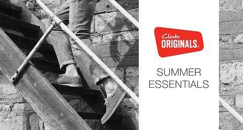 Men's Summer Essentials from the Clarks Originals Collection