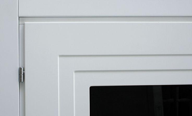 FBP porte | Collezione AGATA Dettaglio telaio interno con anuba #fbp #porte #legno #door #wood #varnished #interiors #woodcut