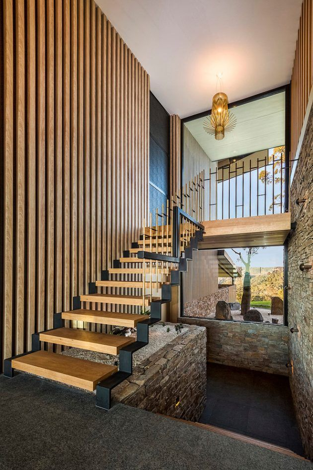 15 Outstanding Mid Century Modern Staircase Designs Part 66