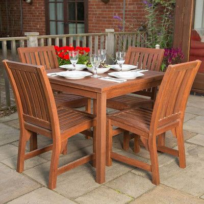 BrackenStyle 4 Seater Dining Set