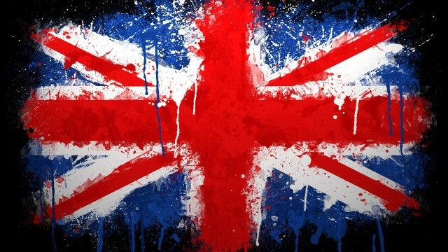 England Flag Abstract Wallpaper HD