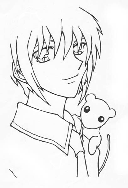 kyo coloring pages - photo#5