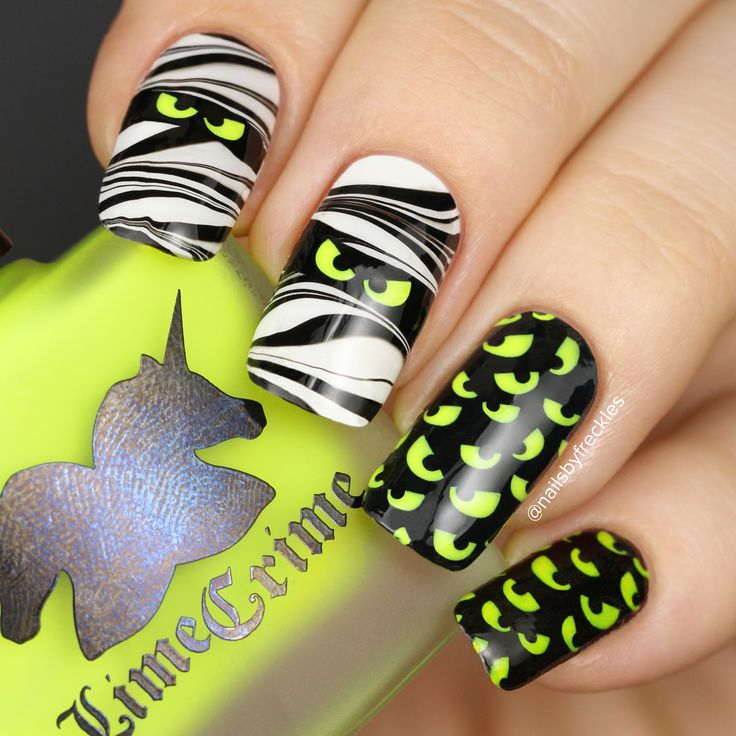 1234 best whats up nails nail art store images on pinterest halloween nails nailsbyfreckles using whats up nails spooky eyes stencils from whatsupnails prinsesfo Gallery