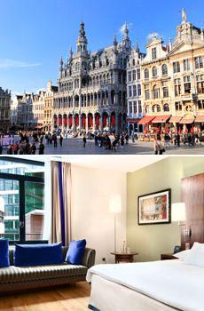 £169 -- Brussels: 3-Night Hilton Weekend Break inc Eurostar