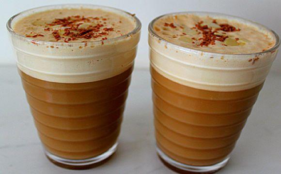 Receita de frappuccino para a fase cruzeiro PP dukan.