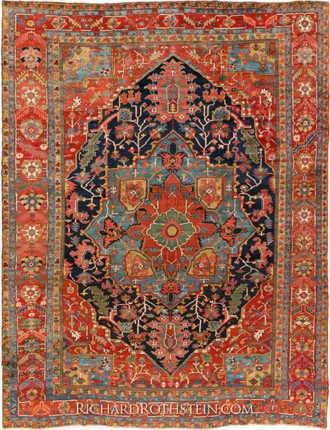 auction guide rugs on our is west lotto october collecting features probably century and oriental anatolia first carpets in offered s london at christie rug a this half ushak