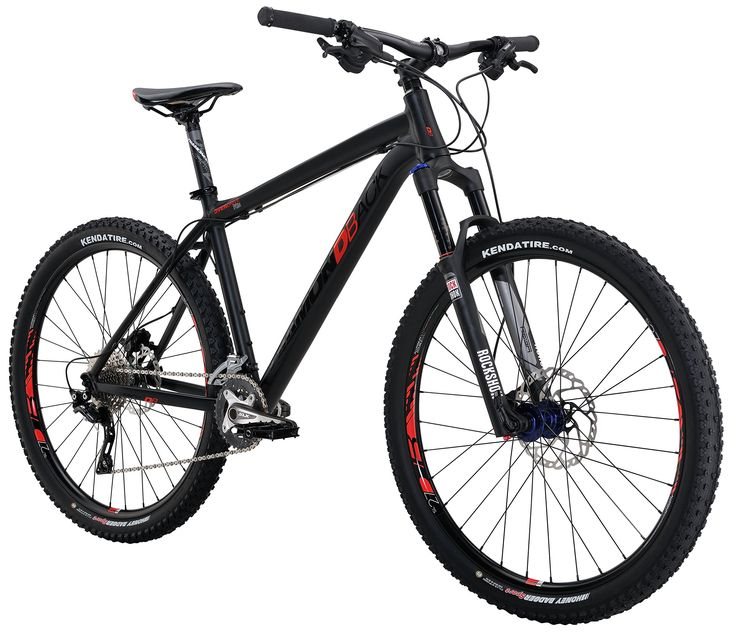 "Diamondback Bicycles 2016 Overdrive Pro Complete READY RIDE Hardtail Mountain Bike, Matte Black, 16""/Small"