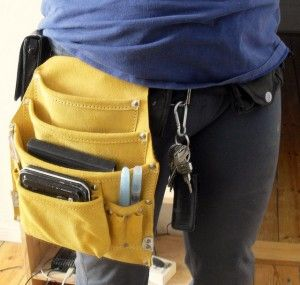 Tool bag for sketching stuff...no need for a bag! Hands free :)