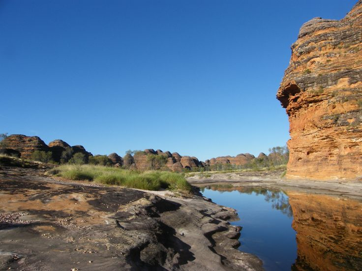 Piccaninnie Creek. It was dry when we went there. The bungle bungles are mind blowingly spectacular. Put them on your holiday bucket list.