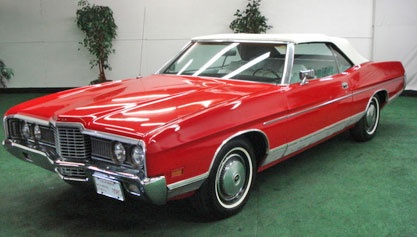 1972 ford ltd convertible. This is a beautiful car I think.
