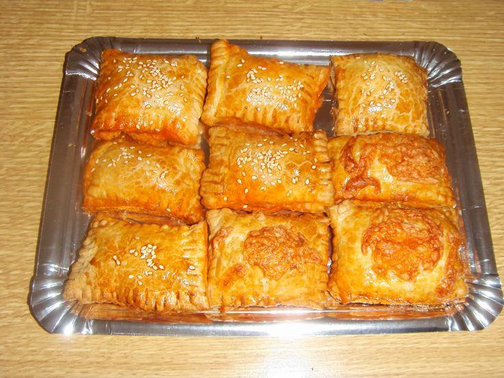 Pastelitos de pollo al horno crocanticos y deliciosos for Canape para navidad