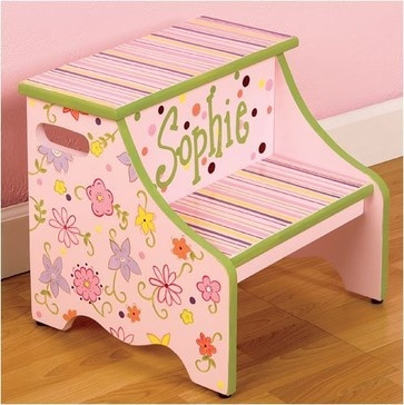 Step Stools for Kids traditional kids decor