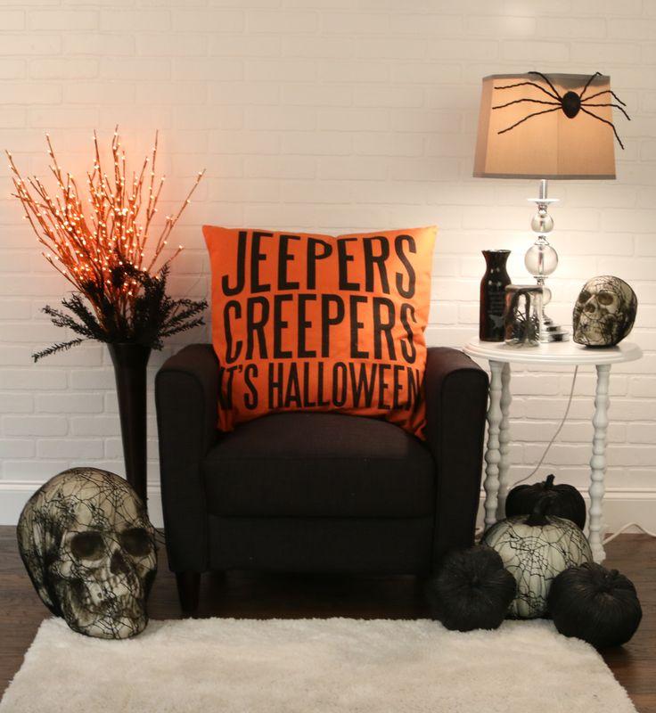 2125 best Halloween images on Pinterest Halloween prop, Candelabra - how to decorate home for halloween