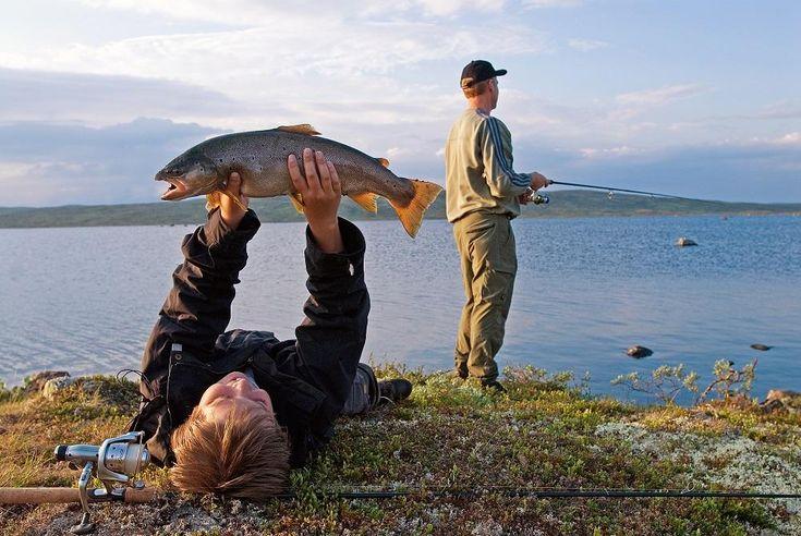 Fishing in Geilo, Norway. www.inatur.no/fiske/53319306e4b07a7adea5b2df/fritidsfiske-for-alle-pa-geilo