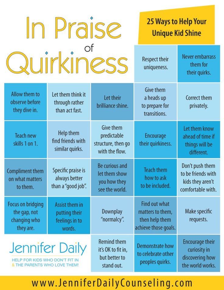 In Praise of Quirkiness: 25 Ways to Help Your Unique Kid Shine