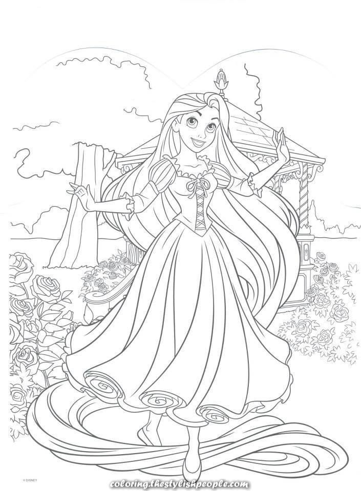 5 Jasmine Coloring Pages Spectacular Disney Tangled Coloring Web Page Coloring In 2020 Rapunzel Coloring Pages Princess Coloring Pages Disney Princess Coloring Pages