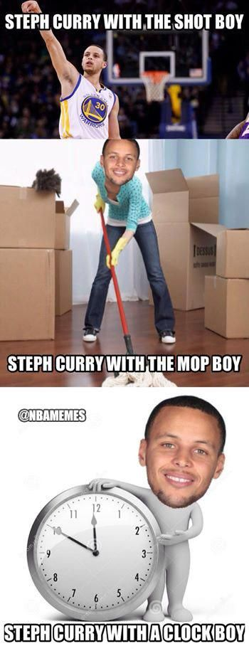Steph Curry with the... - http://nbafunnymeme.com/nba-memes/steph-curry-with-the