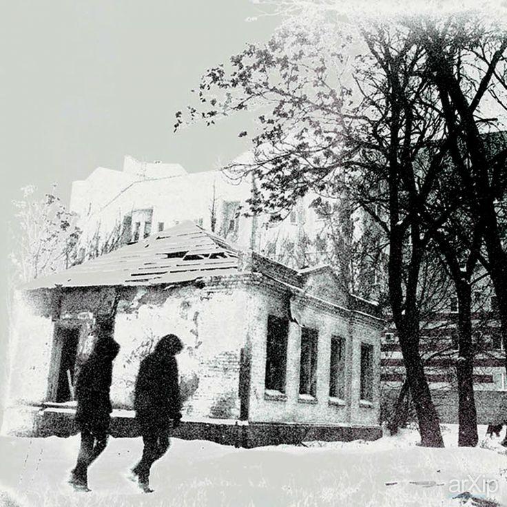 Город, которого нет...: фотография, чёрно-белая фотография, жанровая фотография #photo #blackandwhitephoto #street& arXip.com