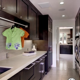 Contemporary Laundry Design Ideas, Pictures, Remodel and Decor