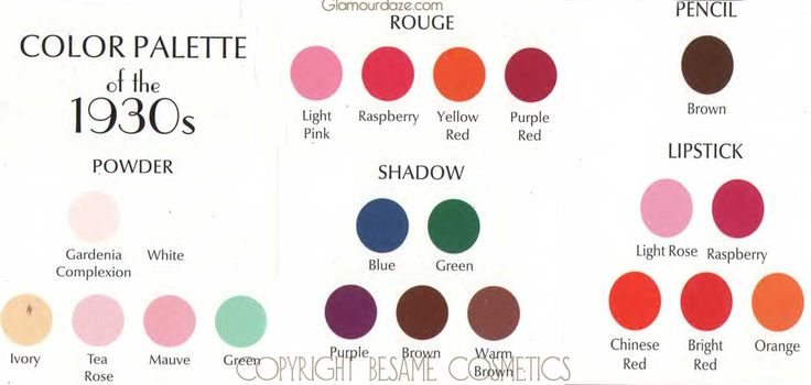 1930s-MAKEUP-color-palette.