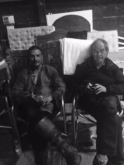 """tomhardydotorg: """" """" Onset Ealing 2016 Taboo Me and my Dad Love you Dad xxx"""" """" I hope Taboo will be aired this year. I can't wait!"""