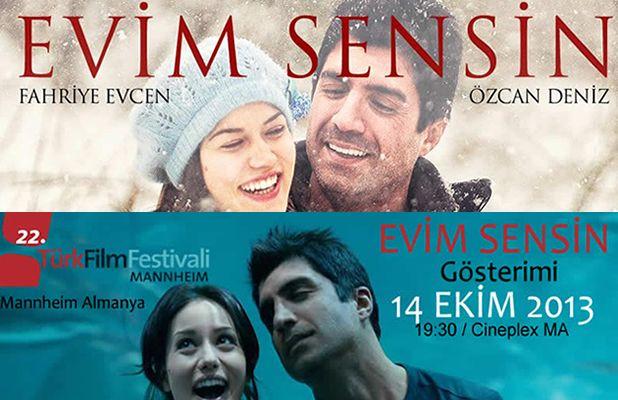 """Özcan Deniz 22. Mannheim TürkFilmFestivali'ne geliyor!  Aynı zamanda oyunculuk ve yönetmenlik de yapan sevilen şarkıcı, yeni filmi """"Evim Sensin"""" i tanıtacak. Pazartesi, 14.10. / 19:30 / Cineplex MA"""