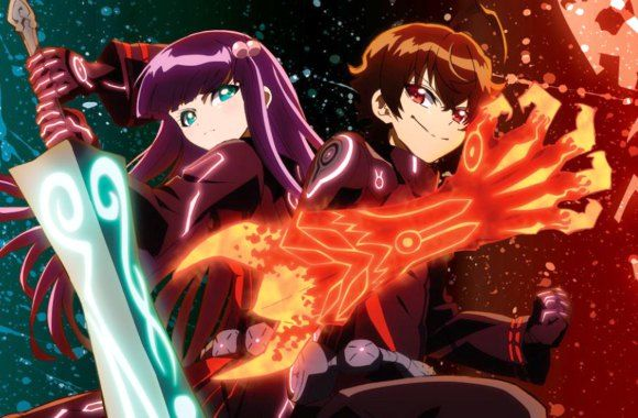 Twin Star Exorcist or Sousei no Onmyouji --- this anime is really great and it just started :)