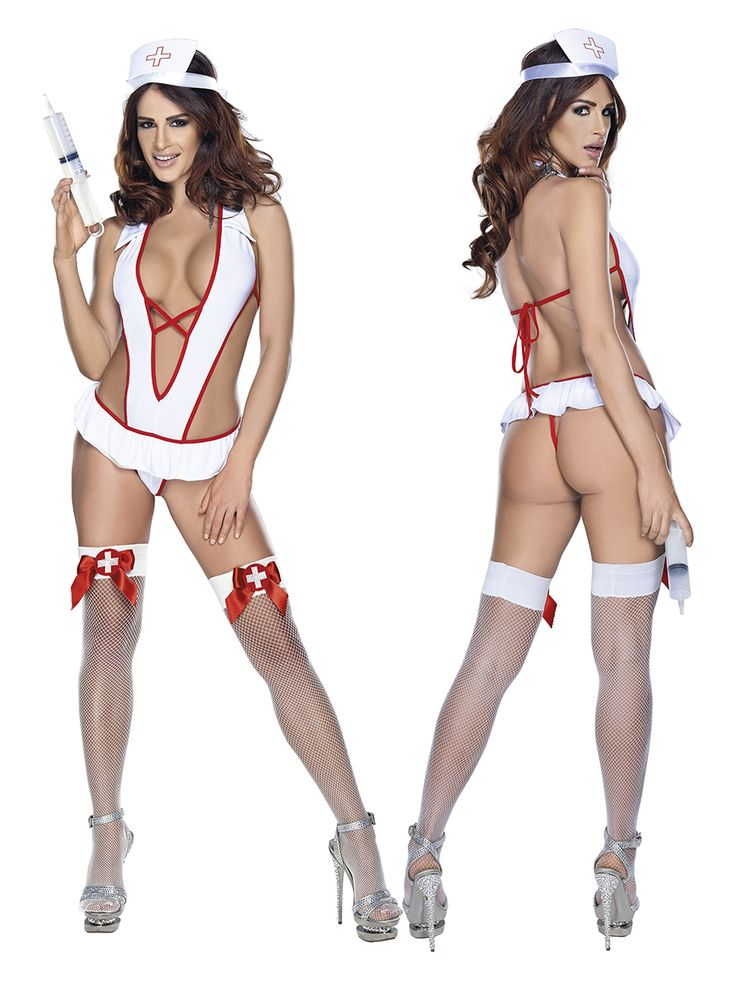 Roxana - Kostium pielęgniarki 6678