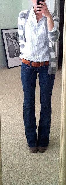 camisa + cardigan