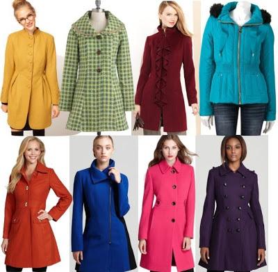 Fashion Me Fabulous: Colorful Coats | Everyday Style | Pinterest
