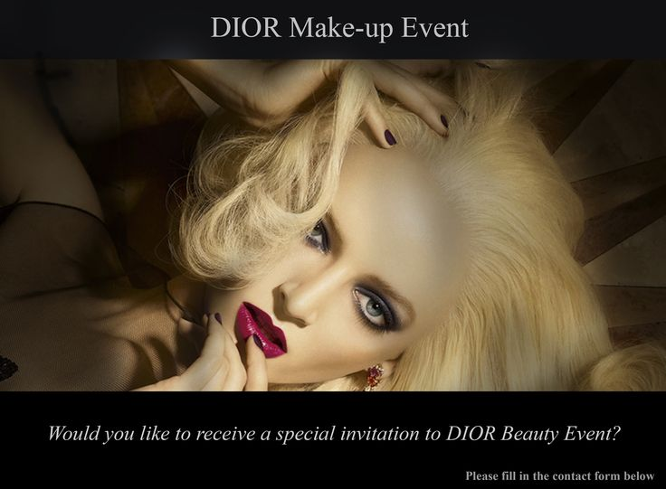Be Sure To Join The DIOR Beauty Event