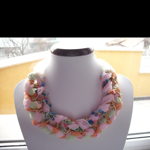 My new line of Colorful necklaces :)