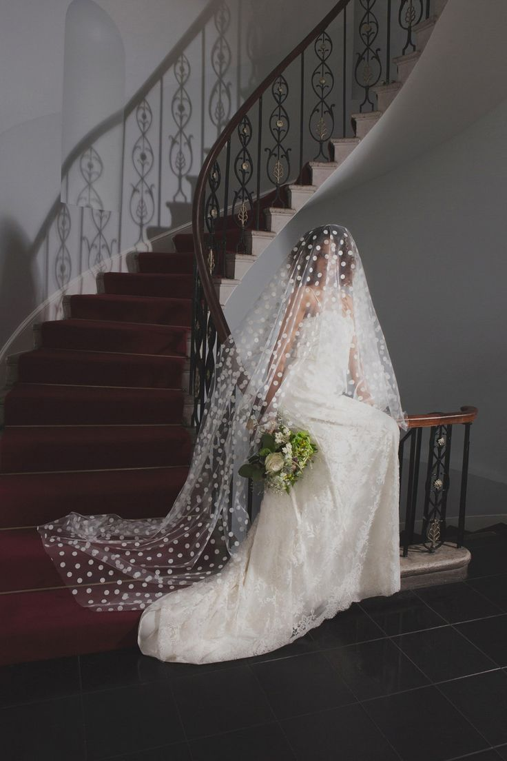 EXQUISITE, ELEGANT WEDDING VEILS FROM HALFPENNY LONDON via Love My Dress