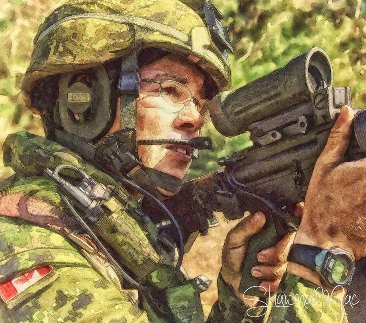 PPCLI Canadian Soldier by Shawna Mac by ShawnaMac.deviantart.com on @deviantART