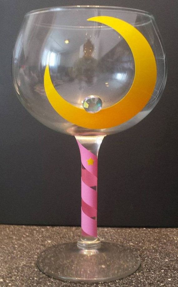 Hey, I found this really awesome Etsy listing at https://www.etsy.com/listing/268933412/sailor-moon-wine-glass